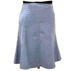 Jacob Woolen Blue Skirt Eight-piece size 4